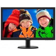 243V5QSBA/01 Монитор Philips LCD 23.6'' [16:9] 1920х1080(FHD) MVA