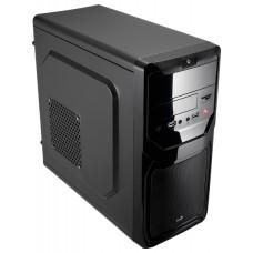 Qs-183 Advance Black Корпус Aerocool mATX, без БП, 2 x USB 3.0, картридер, съемный фильтр от пыли дл