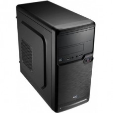 54982 Корпус Mini Tower AeroCool Qs-182, Black 450W, mATX