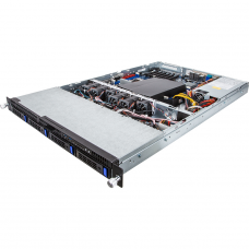 6NR160D61MR-M7-110 Сервер Barebone Gigabyte 1U Rackmount R160-D61, 2x E5-2600 V3/V4 series, 4 x 3.5