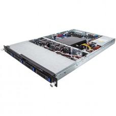 6NR160D60MR-M7-100  Серверная платформа Gigabyte 1U Rackmount Server R160-D60, MD60-SC1, 4 x 3.5 HDD