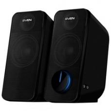 SV-016326 SVEN 470, чёрный, USB, акустическая система 2.0, мощность 2x6 Вт(RMS)
