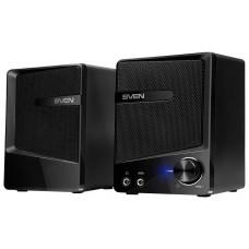 SV-016333 SVEN 248, чёрный, USB, акустическая система 2.0, мощность 2x3 Вт(RMS)