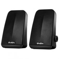 SV-014216 SVEN 380, чёрный, USB, акустическая система 2.0, мощность 2x3 Вт(RMS), пассивный излучател