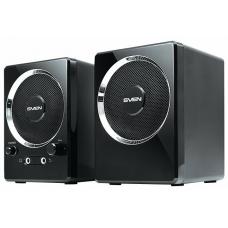 SV-0110247BK SVEN 247, чёрный, USB, акустическая система 2.0, мощность 2х2 Вт(RMS)