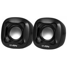 SV-013516 SVEN 170, чёрный, USB, акустическая система 2.0, мощность 2x2,5 Вт(RMS)