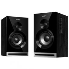 SV-014254 SVEN SPS-705, чёрный, акустическая система 2.0, мощность 2x20 Вт(RMS), щелевой фазоинверто
