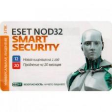 NOD32-ENA-RN(CARD3)-1-1  Антивирус  ESET NOD32 - продление лицензии на 1 год на 3ПК