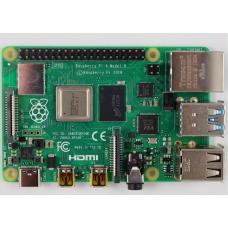 Микрокомпьютер Raspberry Pi 4 Model B 4Gb (44589)