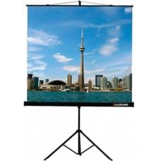 Экран на штативе Eco View  (200х200), рабочая область (200х200), Matte White