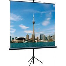 Экран на штативе Eco View  (180х180), рабочая область (180х180), Matte White