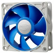 UF80 Вентилятор DEEPCOOL 80х80х25мм Ultra silent (PWM, 60шт./кор, антивибр. рамка и проставки, супер