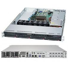 SYS-5019S-M Сервер SuperMicro SuperServer 1u no cpu(1) e3-1200v5