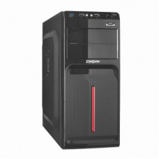 EX247937RUS Корпус Miditower Exegate AB-221 Black, БП AB500, 80mm, ATX