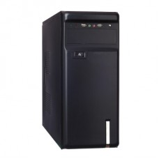 EX253970RUS Корпус Miditower Exegate AA-323 Black, без БП, ATX
