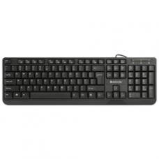 45710 Defender Проводная клавиатура OfficeMate HM-710 RU,черный,полноразмерная USB