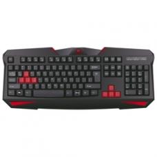 70450 Redragon Проводная игровая клавиатура Xenica RU,черный,начального уровня