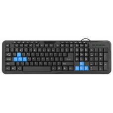 45430 Defender #1 Проводная клавиатура HM-430 RU,черный,полноразмерная