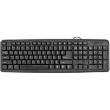 45420 Defender #1 Проводная клавиатура HB-420 RU,черный,полноразмерная