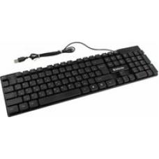 45260 Defender Проводная клавиатура OfficeMate HB-260 RU,черный,мультимедиа