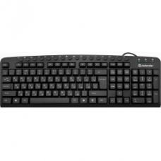 45470 Defender Проводная клавиатура Focus HB-470 RU,черный,мультимедиа