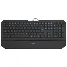 45662 Defender Проводная клавиатура Oscar SM-660L Pro RU,черный,4 уровня подсветки USB
