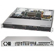 SYS-5019S-MN4 Сервер SuperMicro SuperServer 1u no cpu(1) e3-1200v5