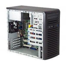 CSE-731I-300B Корпус Mini-Tower, Micro-ATX, 2x5.25'', 4x3.5'' internal SAS/SATA