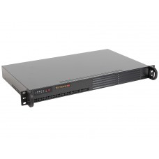 CSE-502L-200B Корпус 1U, Micro-ATX, 1x3.5'' 2x2.5''(optional), 1xFH, 200W
