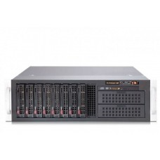 CSE-835TQ-R920B Корпус 3U, 13.68'x13', 8x3.5' hot swap SAS/SATA with SES2, 2x5.25'