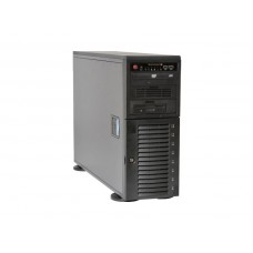CSE-743TQ-1200B-SQ Корпус 4U Tower, E-ATX, 2x5.25', 1x3.5', 8x3.5' hot swap