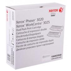 106R03048 Двойная упаковка тонер-картриджей Xerox P3020/WC3025, 3K