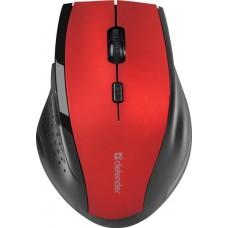 52367 Мышка USB OPTICAL WRL MM-365 RED DEFENDER