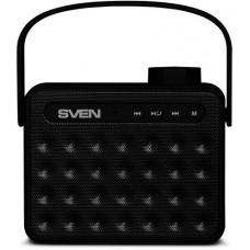 SV-016050 АС SVEN PS-72, черный, акустическая система 2.0, мощность 2x3 Вт (RMS), Bluetooth, FM, USB