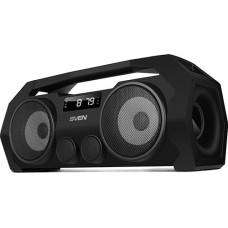 SV-016173 SVEN PS-465, черный, акустическая система 2.0, мощность 2x9 Вт (RMS), Bluetooth, FM, USB,