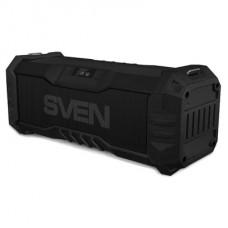 SV-016616 SVEN PS-430, черный, акустическая система 2.0, мощность 2x7.5 Вт (RMS), Waterproof (IPx5),