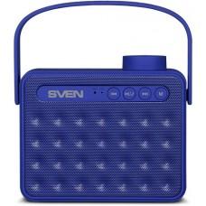 SV-016081 АС SVEN PS-72, синий, акустическая система 2.0, мощность 2x3 Вт (RMS), Bluetooth, FM, USB,