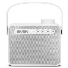SV-016067 АС SVEN PS-72, белый, акустическая система 2.0, мощность 2x3 Вт (RMS), Bluetooth, FM, USB,