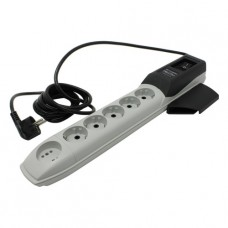 Pilot Pro Surge protector GP 6 outlets (5 euro + 1 without ground) 10A / 2.2kVt, 1.8m, automatic cir