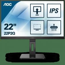 22P2Q Монитор AOC LCD 21.5'' [16:9] 1920х1080(FHD) IPS, nonGLARE