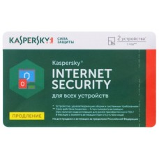 KL1939ROBFR Антивирус Kaspersky Internet Security Russian Edition. 2-Device 1 year Renewal Card