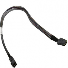 2281200-R Кабель Adaptec I-HDmSAS-mSAS-.5M Internal mini-SAS HD x4 to mini-SAS x4