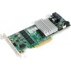 Aoc-s3108l-h8ir контроллер supermicro aoc-s3108l-h8ir, 8 ports (int), 12gbs (sas3), 2gb