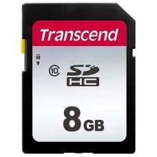 TS8GSDC300S Флеш-накопитель Transcend Карта памяти Transcend 8GB UHS-I U1 SD card на основе памяти т