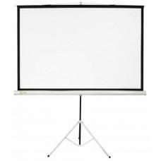 [Экраны Cactus] Экран Cactus Triscreen CS-PST-124x221 124.5 x 221см 16:9 напольный рулонный белый