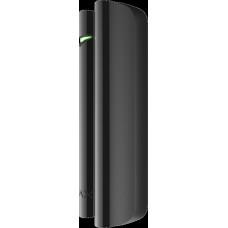 9996.13.BL1 AJAX DoorProtect Plus Black (Магнитный датчик открытия с сенсором удара и наклона, чёрны