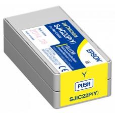 Картридж Epson SJIC22P(Y): INK CARTRIDGE FOR TM (C33S020604)