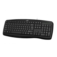 31300001402 Клавиатура Genius KB-128 Black USB/RU