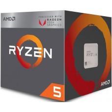 YD2400C5FBBOX Процессор AMD Ryzen X4 R5-2400G Box