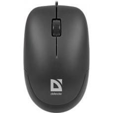 52010 Defender Проводная оптическая мышь Datum MM-010 черный,3 кнопки,1000dpi USB